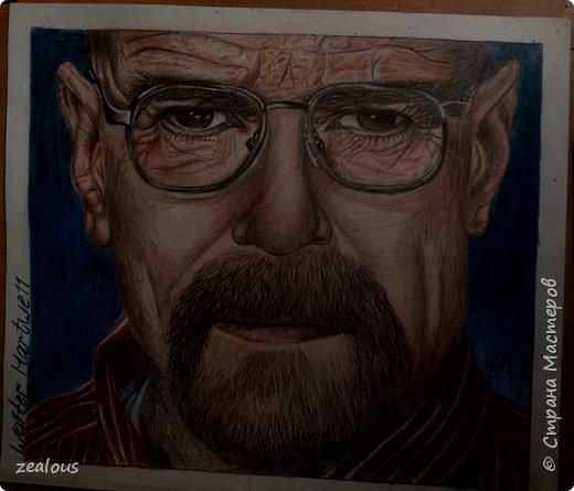 Портрет цветными карандашами. фото 2