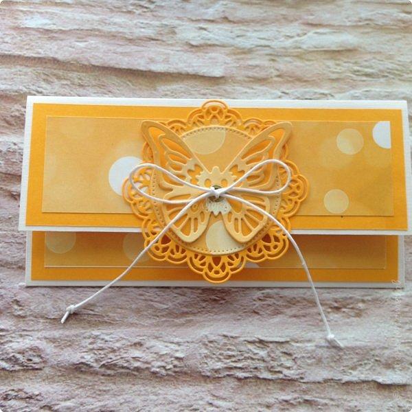 Вот еще пара конвертов подоспела:)  Один летнее настроение, второй свадебный:) фото 1