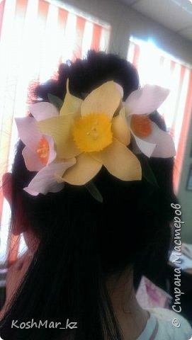 Крабик с пышными цветами (цвет на Ваш выбор) фото 3