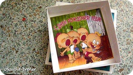 Коробочка на день рождения с наилучшими пожеланиями фото 11