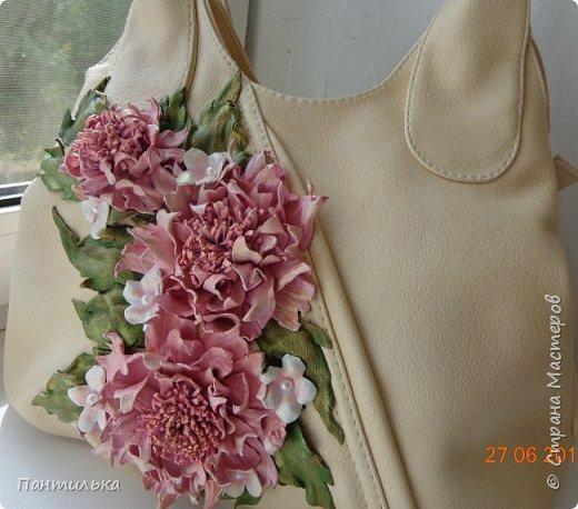 Купила в Кисловодске сумочку и вот по приезду решила её оформить и передать хорошее ,летнее настроение.... фото 2