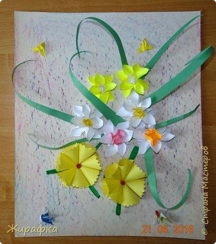 Цветы и колоски для панно делали постепенно. Во время создания других работ. И ещё осталось немного в запасе. фото 6