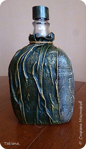 Скоро юбилей у брата. Созрел подарок... Объём бутылки 1,5 л. Надеюсь, что после юбилея он найдёт ей применение, т.к. любит заниматься виноделием. фото 7