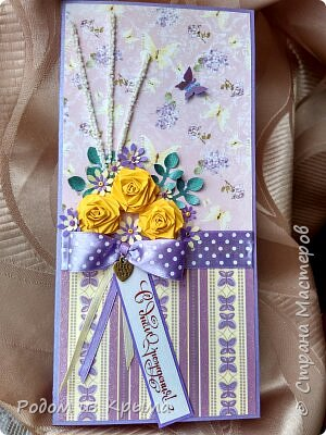 Конвертик на день рождения для денежного эквивалента подарка... фото 3