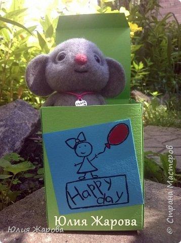 Это мышка Спасибка. Не удивляйтесь странному имени, Спасибка- это благодарность одному хорошему человеку. фото 1