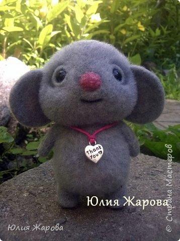 Это мышка Спасибка. Не удивляйтесь странному имени, Спасибка- это благодарность одному хорошему человеку. фото 4