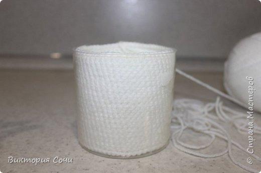 Всем добрый день! Сегодня я хочу представить вашему вниманию мою новую работу - предметы интерьера для ванной комнаты. В набор входят: - шкатулка для ватных палочек - шкатулка для заколочек - стакан под зубные щетки - чехлы для лака и пенки для волос - декорированная картина фото 9