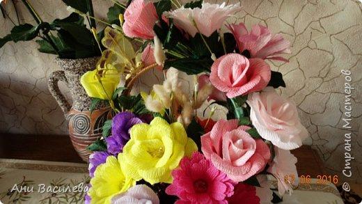 корзина цветов фото 3