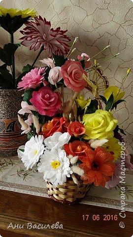 корзина цветов фото 1