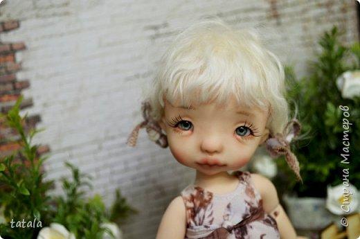 Всем привет!!! Хочу показать вам новую девочку… Ростик 19 см, сделана из фимо классик . Приятного просмотра))  фото 4