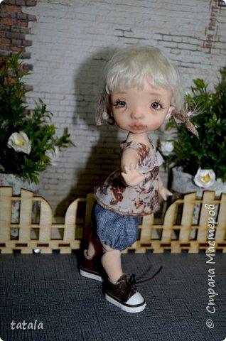Всем привет!!! Хочу показать вам новую девочку… Ростик 19 см, сделана из фимо классик . Приятного просмотра))  фото 5