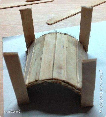 Вот такой мостик для будущего мини-сада фото 5