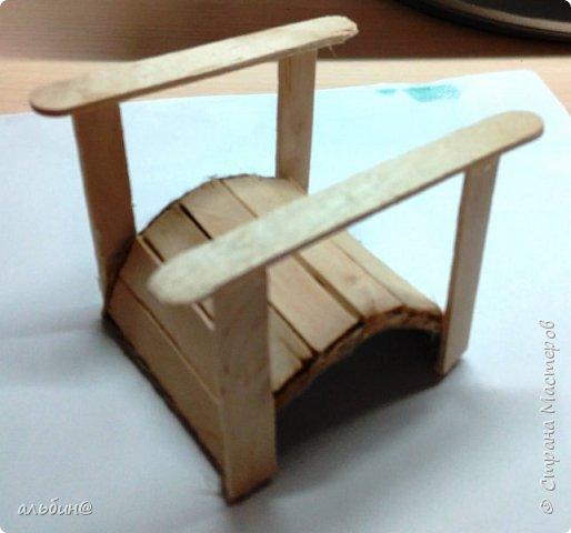 Вот такой мостик для будущего мини-сада фото 7