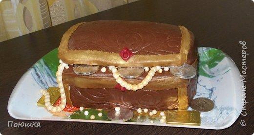 """Всем здравствуйте! Я с очередной порцией тортиков. Есть у мамы друзья, которые каждый год отмечают День России (нашли еще один повод встретиться:)). Для их посиделок я и сделала такой """"торт"""". На самом деле это лимонный кекс, сверху узор белым шоколадом и флаг из мастики. фото 3"""