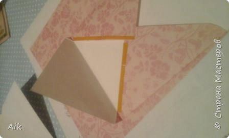 Мой первый конвертик изготовленный для подарка ко дню бракосочетания. цвет лент в тонах цветовой гаммы  на свадьбе (по крайней мере очень близко к оригинальной).  фото 9