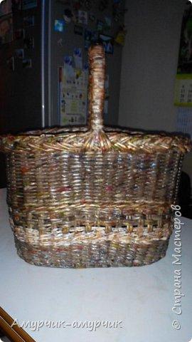 Плетеные корзинки фото 6
