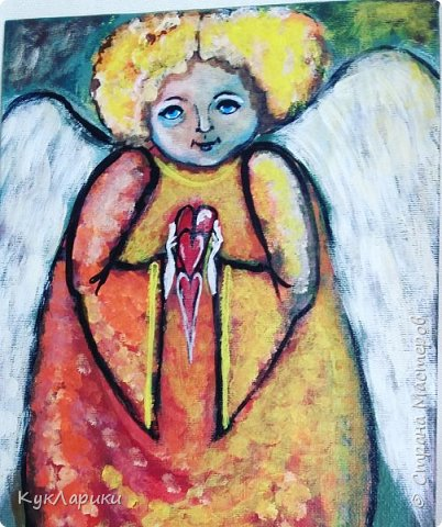 Всем Доброго Утра! Прекрасного дня и отличного настроения в любое время!Я рисую Ангелов.период такой. Это интуитивное или правополушарное  рисование. фото 3