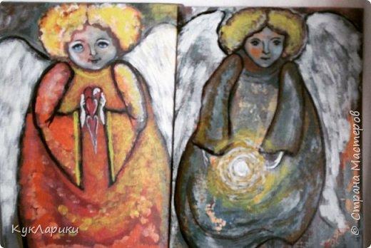 Всем Доброго Утра! Прекрасного дня и отличного настроения в любое время!Я рисую Ангелов.период такой. Это интуитивное или правополушарное  рисование. фото 4