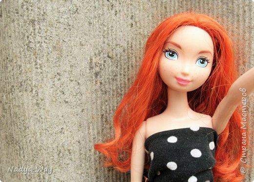 Привет,Страна!А я к вам с новой девочкой.Зовут ее Мередит,Мэр,Мэри,как вам угодно.На Мэри платье сшитое мной.А на голове ободок ручной работы так же выполнен мной. фото 4
