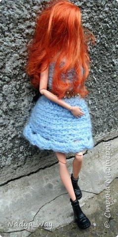 Привет,Страна!А я к вам с новой девочкой.Зовут ее Мередит,Мэр,Мэри,как вам угодно.На Мэри платье сшитое мной.А на голове ободок ручной работы так же выполнен мной. фото 6
