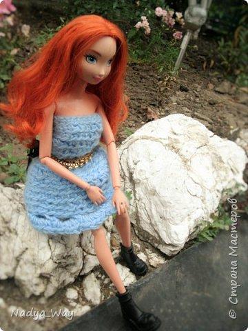 Привет,Страна!А я к вам с новой девочкой.Зовут ее Мередит,Мэр,Мэри,как вам угодно.На Мэри платье сшитое мной.А на голове ободок ручной работы так же выполнен мной. фото 7