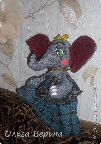 "Слоняшка ""Глаша""  фото 5"