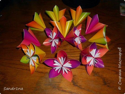 Цветы оригами фото 7