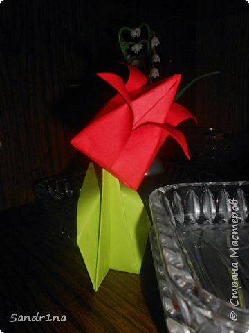 Цветы оригами фото 3