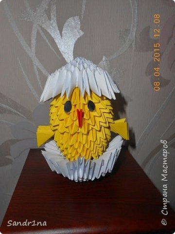 Лебеди и другие животные оригами модульное фото 9