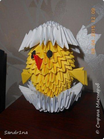 Лебеди и другие животные оригами модульное фото 10
