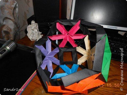 Геометрические и спиральные кусудамы фото 2