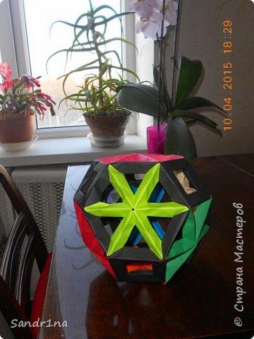 Геометрические и спиральные кусудамы фото 1