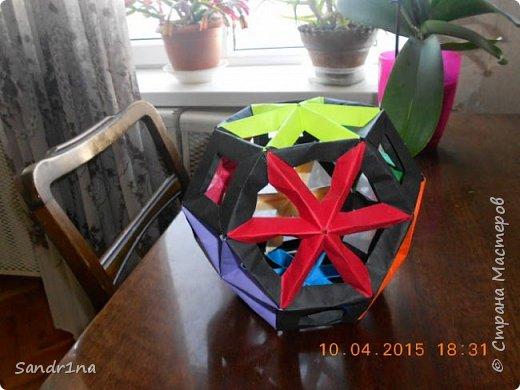 Геометрические и спиральные кусудамы фото 7