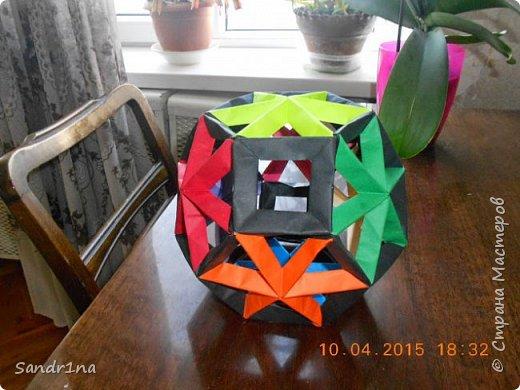 Геометрические и спиральные кусудамы фото 8