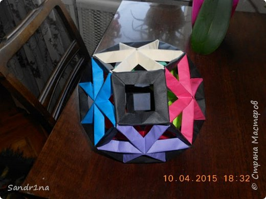 Геометрические и спиральные кусудамы фото 9