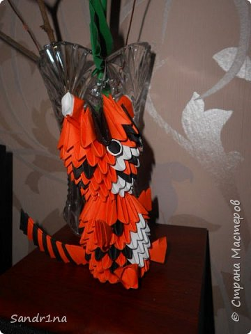 Лебеди и другие животные оригами модульное фото 11