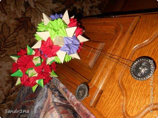 Цветочные кусудамы  фото 7