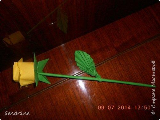 Розы оригами фото 9