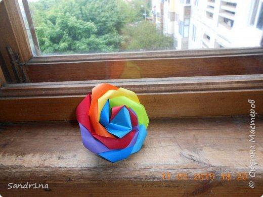 Розы оригами фото 12