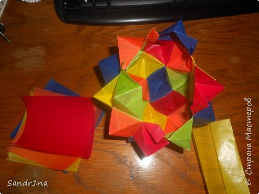 Геометрические и спиральные кусудамы фото 15