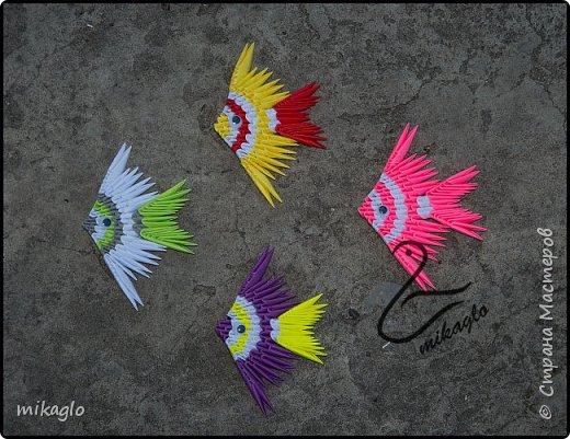 origami 3d fish  фото 1
