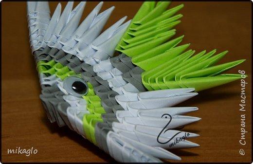 origami 3d fish  фото 3