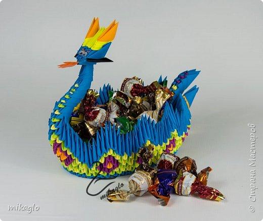 origami dragon boat  фото 3