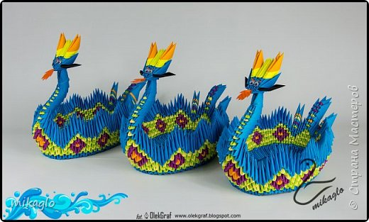 origami dragon boat  фото 2