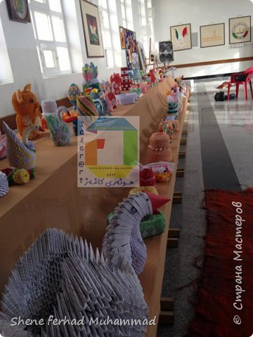 3d origami and quilling festival ..
