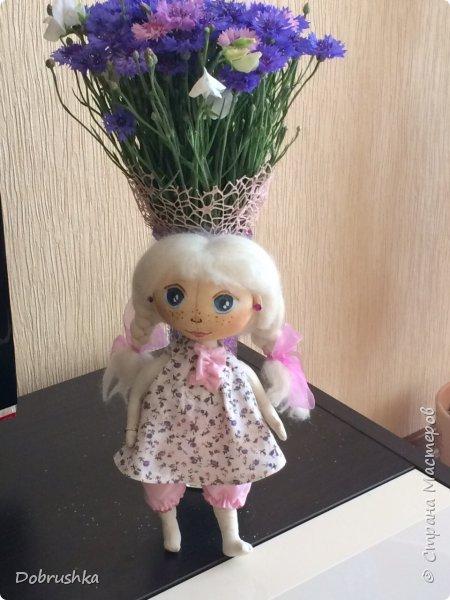 Вдохновилась  на создание текстильной куклы. Правда совсем не умею рисовать. Но учиться чему то новому очень интересно.)))) Буду стараться. фото 1