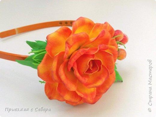 Розы из фома фото 4