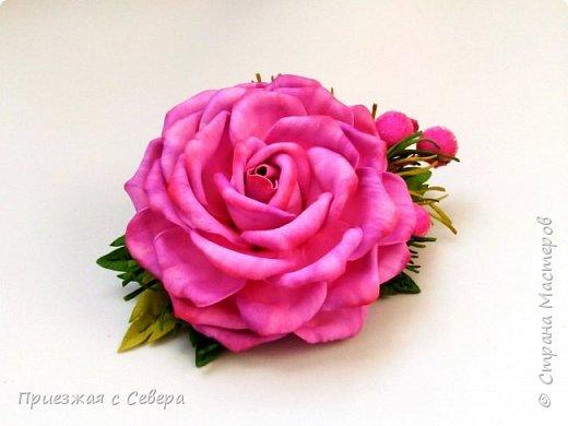 Розы из фома фото 1