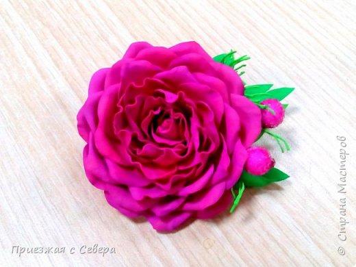 Розы из фома фото 5