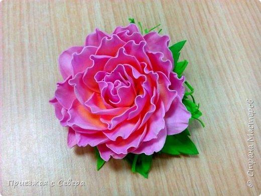Розы из фома фото 6